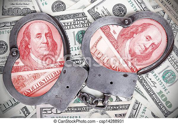 Corruption in government  - csp14288931