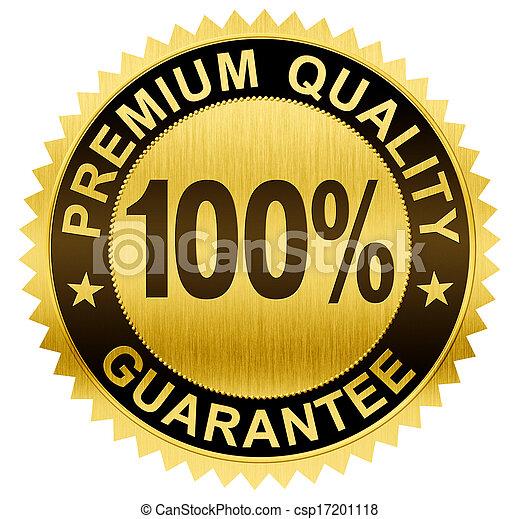 cortando, prêmio, ouro, guaranteed, qualidade, selo, included, caminho, medalha - csp17201118