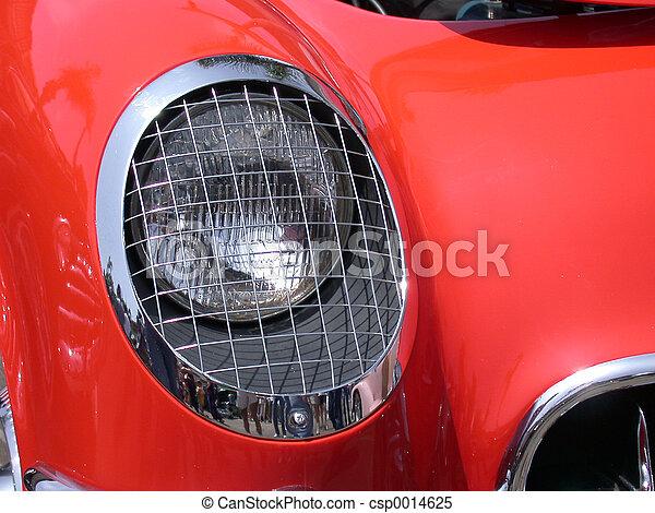 Corvette Headlight - csp0014625