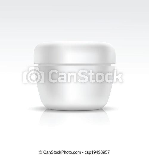 Vector cosmético para el sueño, polvo o gel - csp19438957