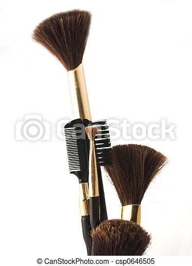 cosméticos, escova - csp0646505