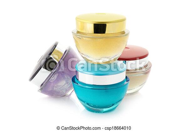 Cosmetic creams - csp18664010