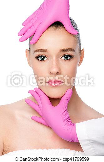 Cosmetic skincare spa beauty treatment - csp41799599