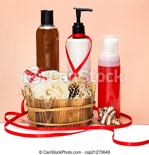 Cosmetics as a gift - csp21270649