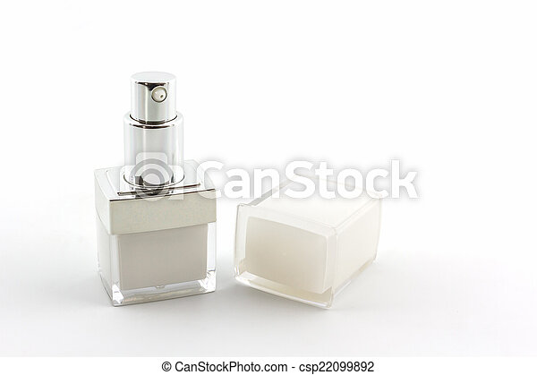 Cosmetics bottle, packaging. - csp22099892