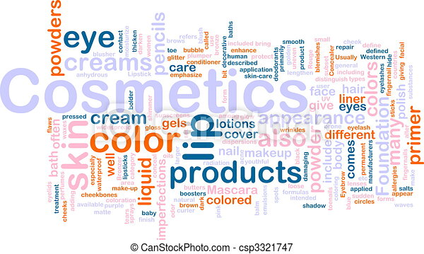 Cosmetics products background concept - csp3321747