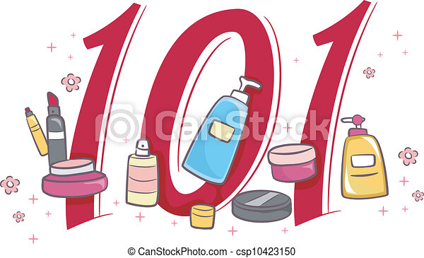 cosmetology 101 illustration depicting the basics of clipart rh canstockphoto com beauty clipart png beauty clipart colorful