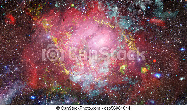Cosmic Art, Science Fiction Wallpaper. Elements Of This Image Furnished By Nasa.