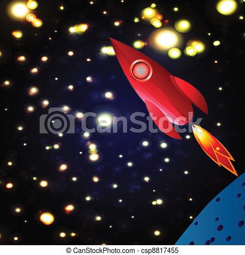 cosmos explore space rocket  - csp8817455