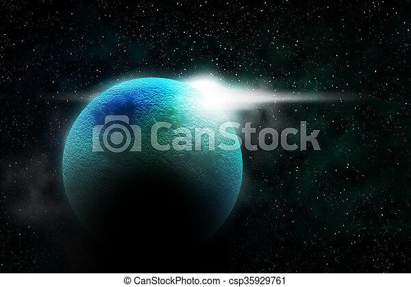 Cosmos Planet Texture
