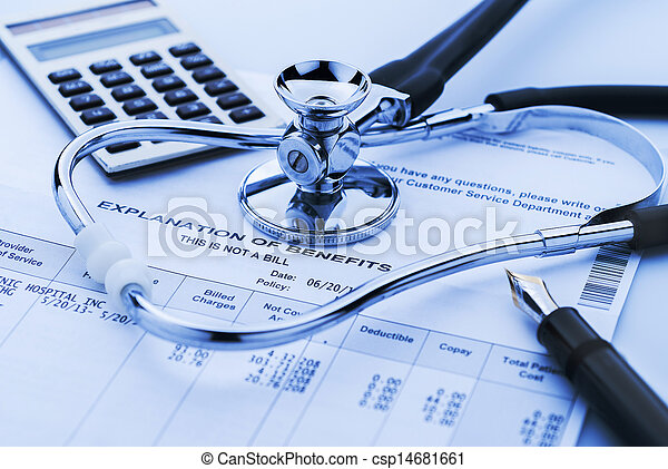 Cost of health care - csp14681661
