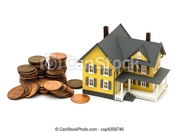 Cost of housing - csp4258746