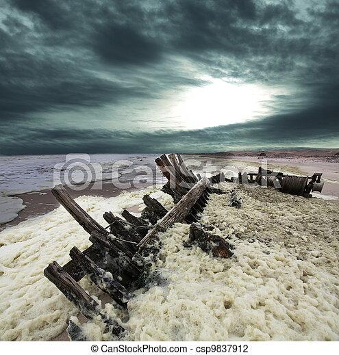 Costa del esqueleto - csp9837912