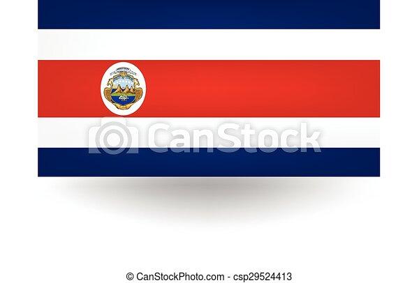 Costa Rica Flag - csp29524413