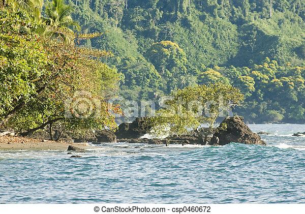 costa rica seascape - csp0460672