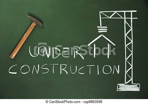 Costruction Site - csp9863598