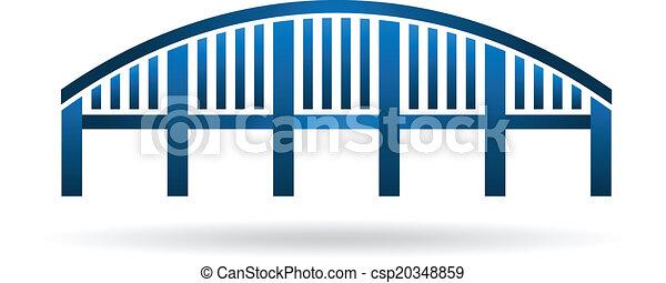 costruire ponte arco, image., struttura - csp20348859