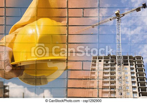 costruzione, concetto - csp1292900