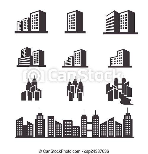 costruzione, icona - csp24337636