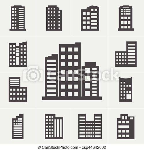 costruzione, icone - csp44642002