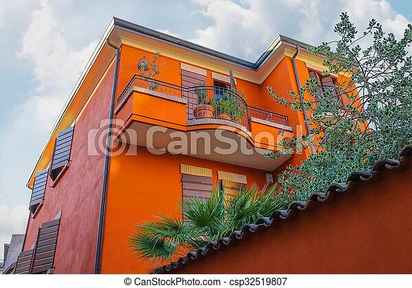 costruzione, italia, centro, appartamenti, storico, rimini - csp32519807