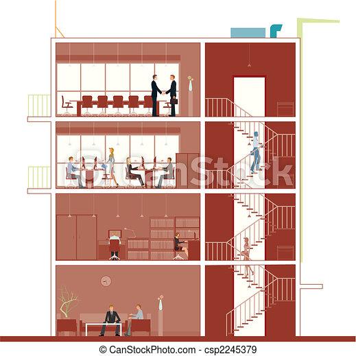 costruzione, sezione - csp2245379