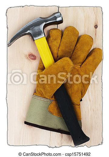 costruzione, tools. - csp15751492