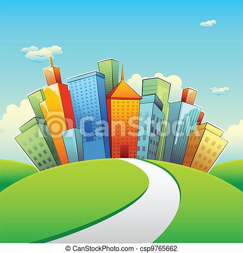 costruzione, urbano - csp9765662