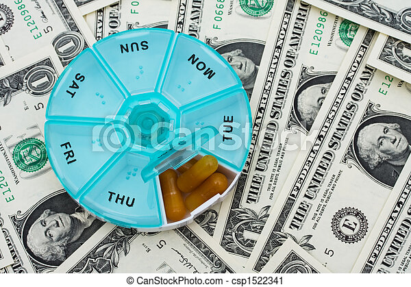 Costs of Medication - csp1522341