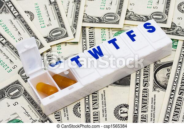 Costs of Medication - csp1565384