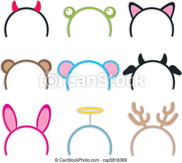 Costume Headbands Collection - csp5816369