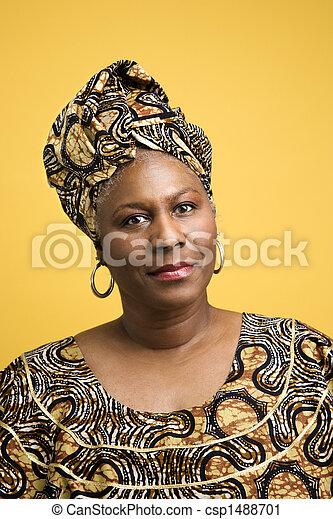 Vestidos de mujeres africanas