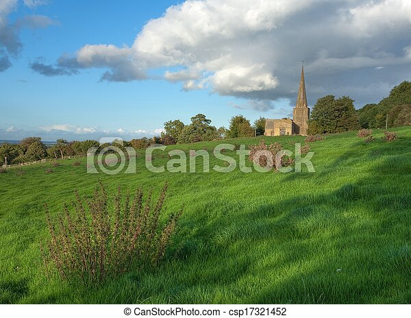Iglesia Cotswold - csp17321452