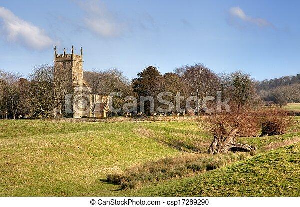 Iglesia Cotswold - csp17289290