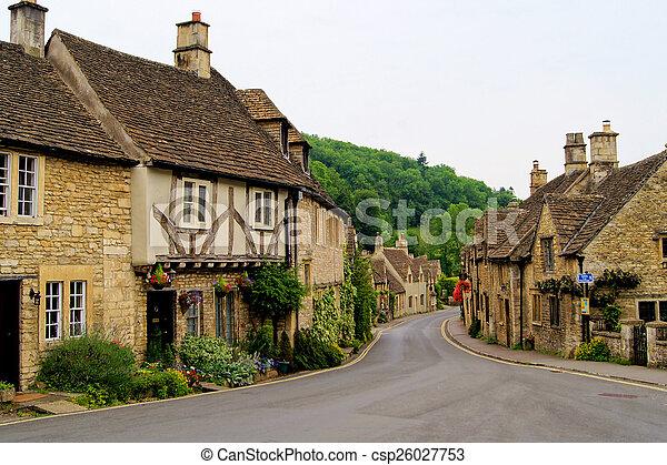 Cotswolds pintorescos, Inglaterra - csp26027753