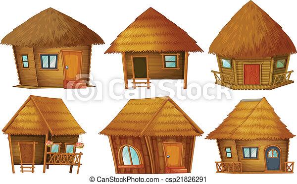 Cottage set - csp21826291