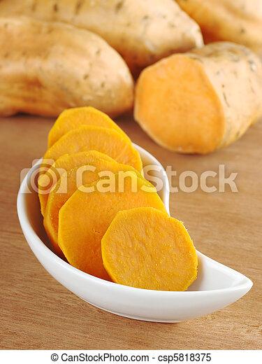 cotto, patata dolce - csp5818375