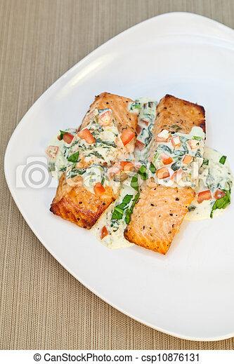 cotto, salmone - csp10876131