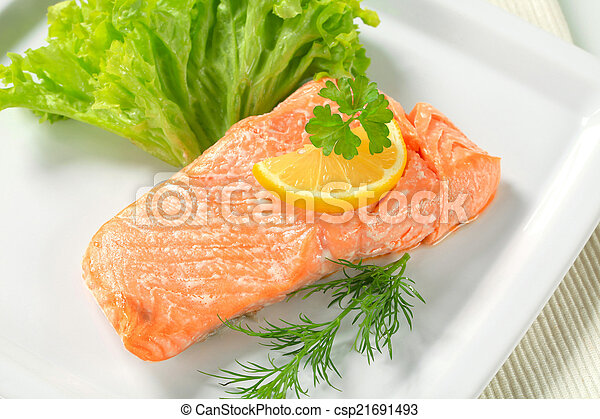 cotto, salmone - csp21691493