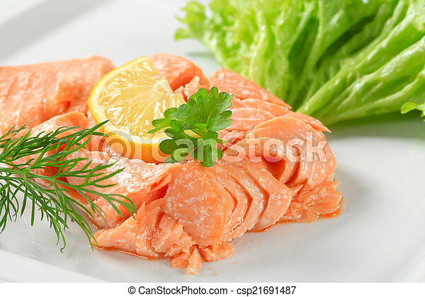 cotto, salmone - csp21691487