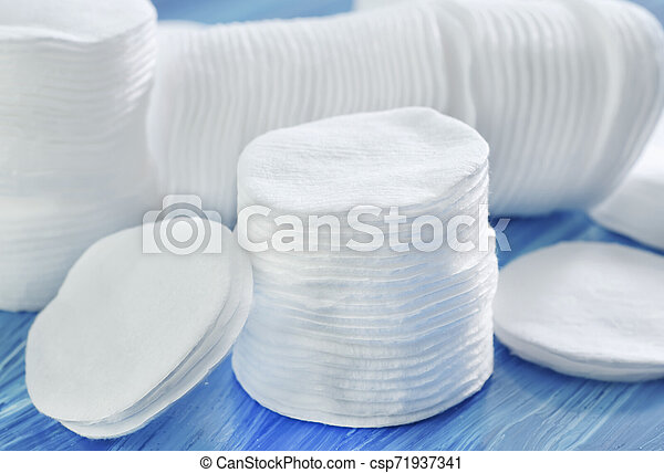cotton disk - csp71937341