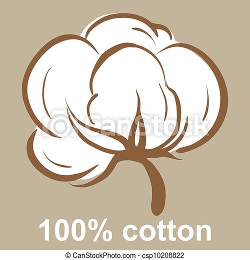 Cotton icon - csp10208822