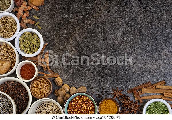 cottura, spezie, usato - csp18420804