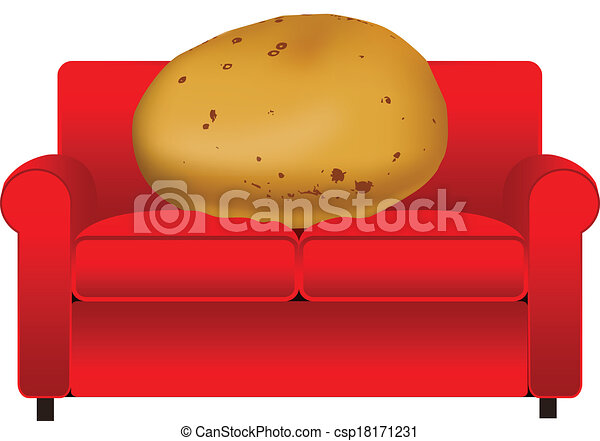 couch potato rh canstockphoto com couch potato images clipart sectional couch clip art