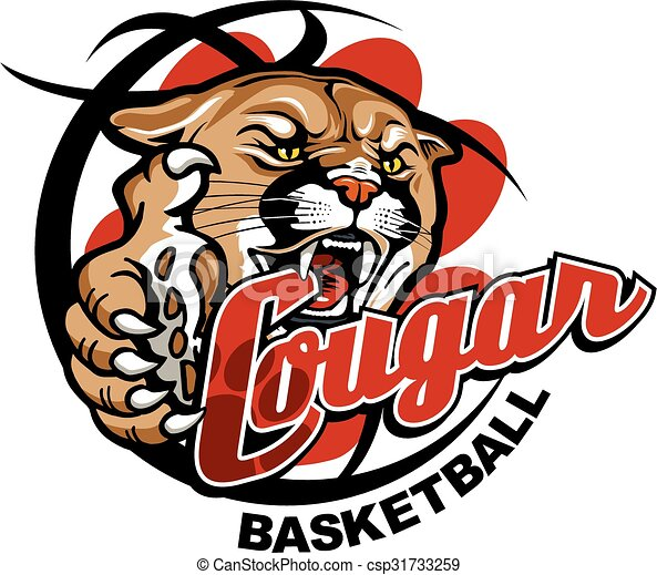 cougar basketball - csp31733259