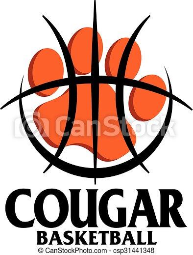 cougar basketball - csp31441348