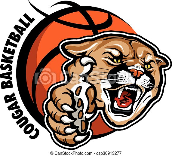 cougar basketball - csp30913277