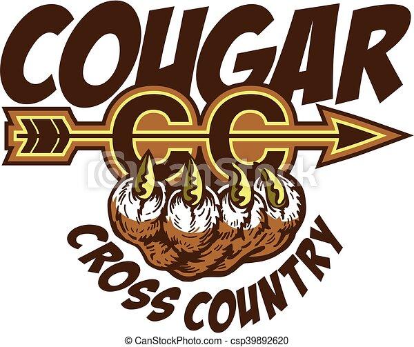 cougar cross country - csp39892620