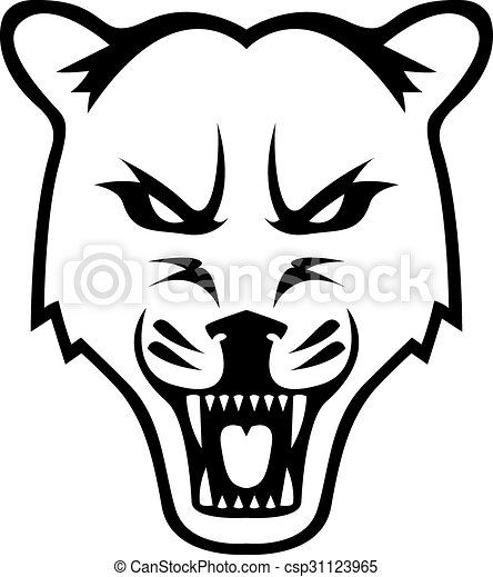cougar design illustration clip art vector search drawings and rh canstockphoto com Stingers Clip Art Stingers Clip Art