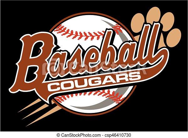 cougars baseball - csp46410730